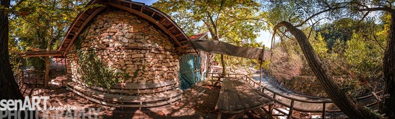 Sinan Değirmeni Coffee Shop Pano © LVENET ŞEN