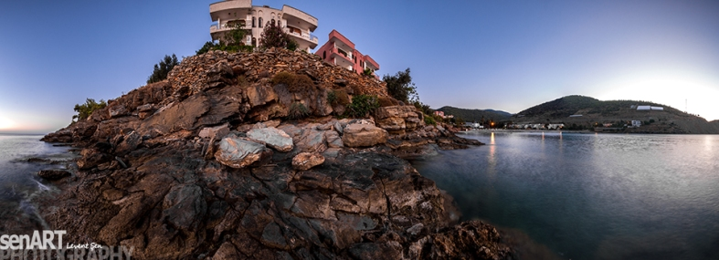 Bay Of Karatepe 3ls2883-Pano © LEVENT ŞEN