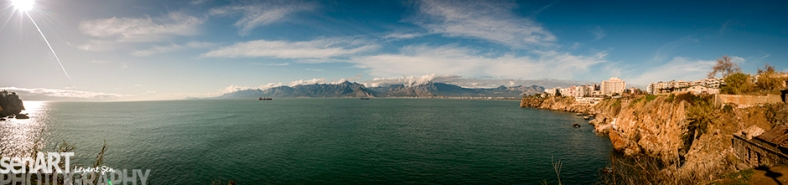 Bay Of ANTALYA 4ls8315-Pano © LEVENT ŞEN